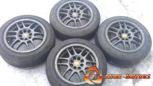 OZ RACING F1 4x100 4x108! 7J ET37 С резиной BS 185/60R15