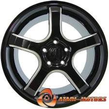 5Star Black R17 5x112 ET45 7.5J