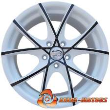 White Sakura Wheels R17 5x112 ET45 7.5J