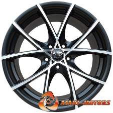 Black Sakura Wheels R17 5x112 ET35 7.5J