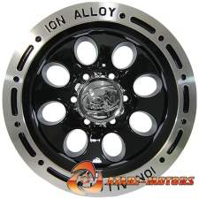 ION ALLOY BLACK R15 6x139.7 ET-27 8.0J