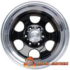 Sakura Wheels BLACK&CHROME R15 6x139.7 ET-45 10.0J