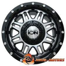 ION ALLOY BLACK&SILVER R15 6x139.7 ET-5 8.0J
