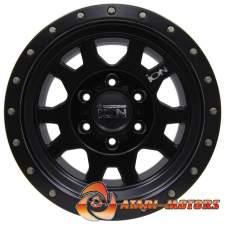 ION ALLOY BLACK R15 6x139.7 ET-10 8.0J
