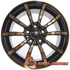 Sakura Wheels BLACK&BRONZE R16 5x105 ET35 7.0J