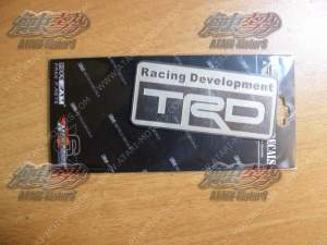 TRD Sticker 80x36 mm