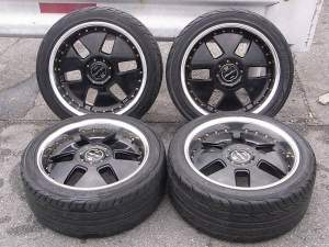 WORK EURO LIMITED EDITION R18 9J PCD 4-5x114,3 ET+35