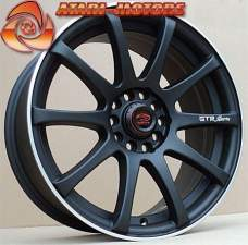 Черные матовые SAKURA WHEELS GTR Sports 5-100 5-108! 7J ET40
