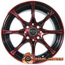 Black/Red SW R14 4-98 5.5J ET35
