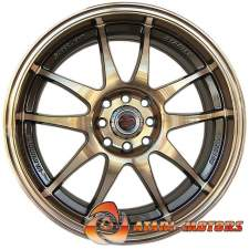Gold Starley Fashion R17 4x100/114,3 ET42 7J